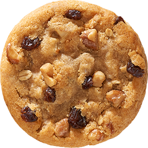 Oatmeal Raisin with Walnuts Cookie